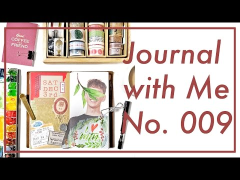 Journal with Me No. 009 | Midori Traveler's Notebook