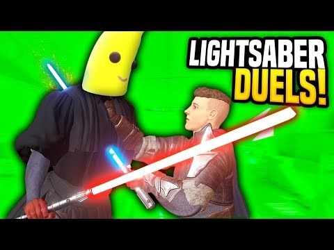 LIGHTSABER DUELS WITH THE NEW MULTIPLAYER MOD - Blade And Sorcery VR Mods (Star Wars)