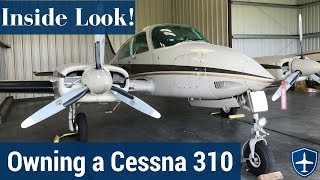 Inside Look: Owning and Maintaining a Cessna 310 - The Prebuy Guys