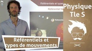 Physique Terminale S : Référentiels et types de mouvements