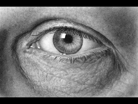 How to draw an Eye – Speed Drawing