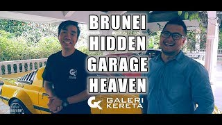 GK ke 1 Hidden Garage Heaven di Brunei (R32 Zero R, RX7, Porsche Turbo, 510 SSS etc)