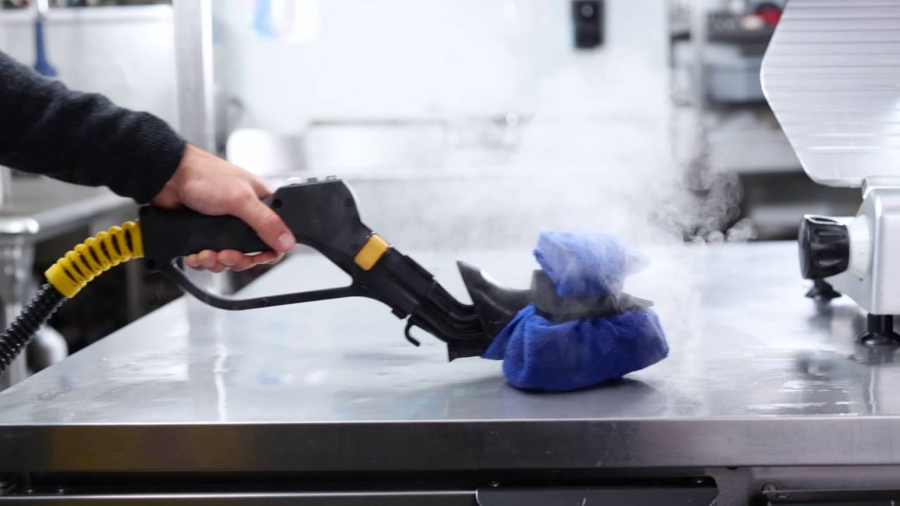Clean & Degrease Commercial Kitchens – Dupray Steam Cleaners - YouTube