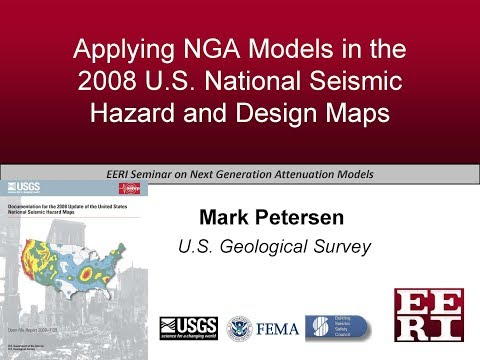 Applying NGA Models in the 2008 U.S. National Seismic Hazard and Design Maps