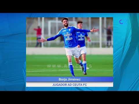 Primeras palabras de Borja Jiménez como jugador de la AD Ceuta