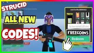ALL *NEW* WORKING CODES in STRUCID 2020 - New Free Coins [ROBLOX]