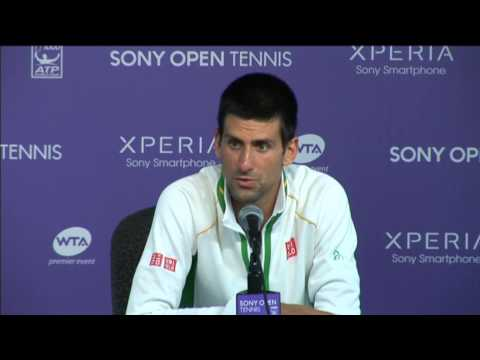 Djokovic Delighted By Miami Win Over Devvarman