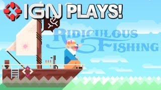 Justin & Daemon Play Ridiculous Fishing - FISHING WITH GUNS!