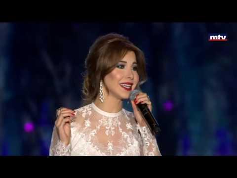 Nancy Ajram Maakoul El Gharam Cedars international festivalنانسي عجرم معقول الغرام مهرجان الارز