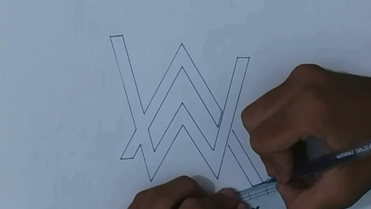 Alan Walker Time Lapse Drawing #2 by Catarina Carvalho