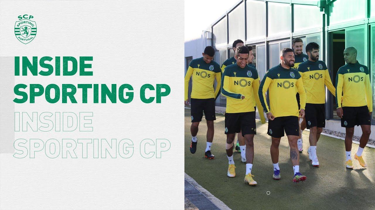 INSIDE SPORTING CP | Preparação para a estreia na prova rainha