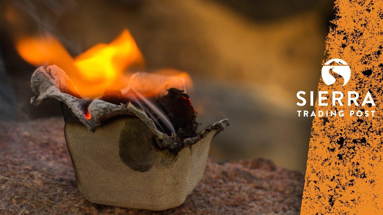 Easy Homemade Fire Starter Idea Youtube
