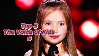 Download Top 5 - The Voice of Kids 5 Mp3 and Videos