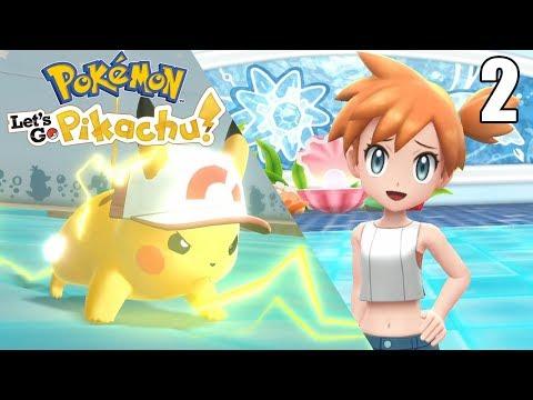 LLEGAMOS DONDE MISTY ¡SIN PIKA PIEDAD! - Pokémon Let's Go Pikachu #2 En Español - Nintendo Switch