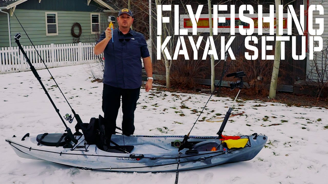 Fly fishing kayak setup 2016 open top 10 5 foot for Fly fishing kayak