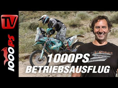 Motorex wird 100 und Vauli fährt die Dakar KTM 450 Rally