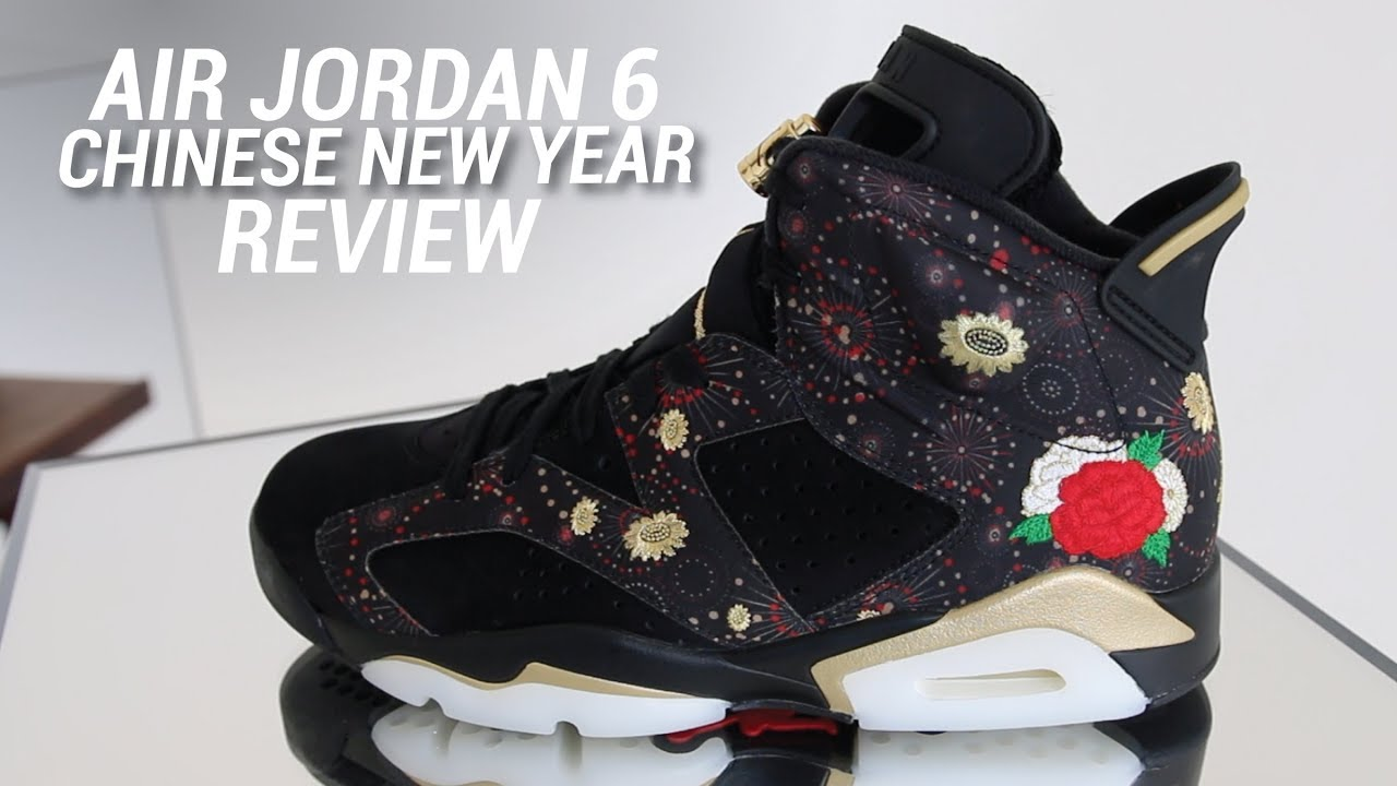 868da97b33ca65 AIR JORDAN 6 CHINESE NEW YEAR REVIEW - YouTube