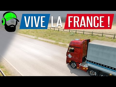 Euro Truck Simulator 2 - Vive La France DLC - Les Réalisations