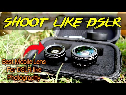 Best Mobile Lens   SKYVIK SIGNI 3 In 1 Lens   Professional Mobile Lens   DSLR Lens For Mobile