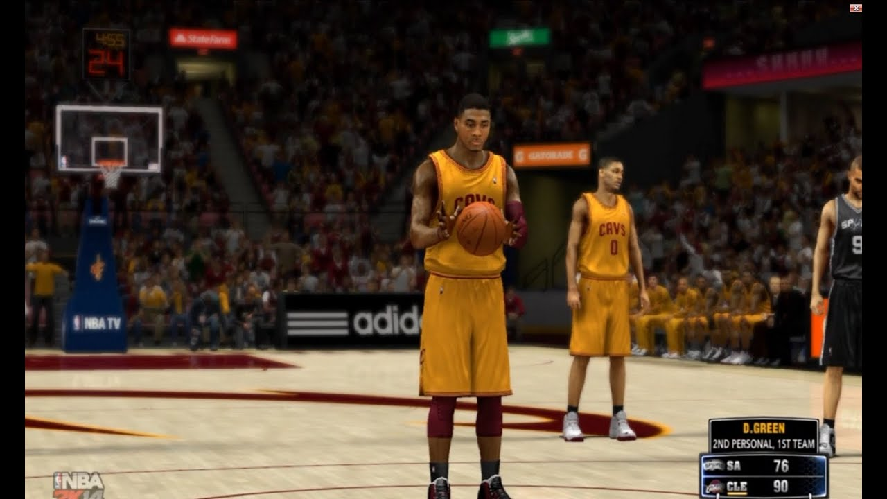 Kyrie Irving Makes a SuperNoob Rage  NBA 2K14 100 Point