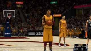 Kyrie Irving Makes a SuperNoob Rage! - NBA 2K14 100 Point Challenge (XBOX 360)