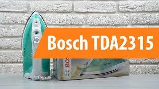 распаковка Bosch TDA2315 / Unboxing Bosch TDA2315