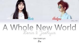Herin & Jaehyun - A Whole New World (OST) (LYRICS) |Han|Rom|Eng| Color Coded Lyrics - By NEStar 088