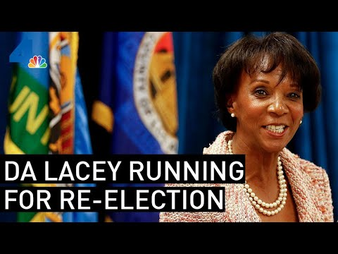 Los Angeles District Attorney  Lacey Running For Re-Election | NewsConference| NBCLA