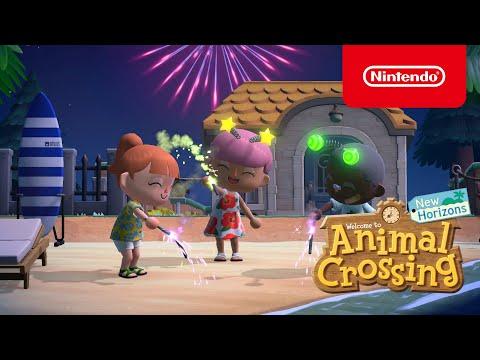 De volgende zomerupdate arriveert op 30 juli in Animal Crossing: New Horizons! (Nintendo Switch)
