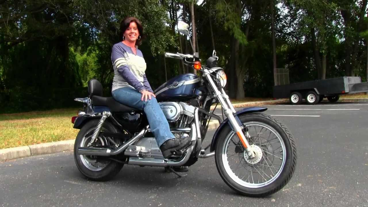 Used 2003 Harley-Davidson Sportster 883 Custom For sale - YouTube