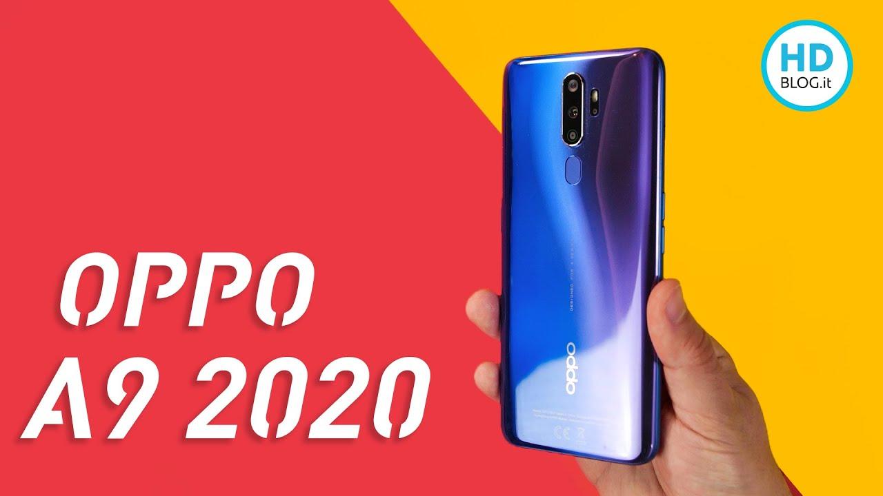 Recensione Oppo A9 2020: bene hardware e batteria, pecca risoluzione schermo