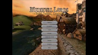 1 Let's Play Medieval Lords: Isola de Monte Cristo Part 1/3