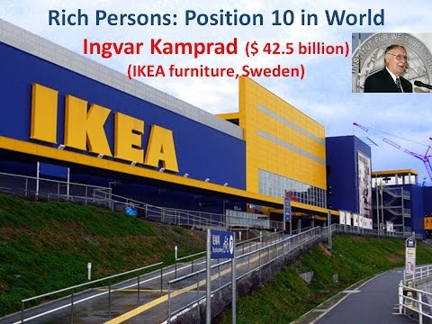 Superieur Big Furniture Companies : IKEA Furniture : Sweden : Ingvar Kamprad
