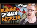 German Heckler vs Jewish Comedian - Steve Hofstetter