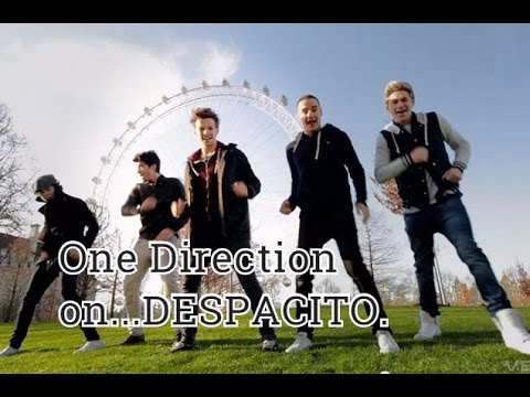 One Direction dance... DESPACITO!