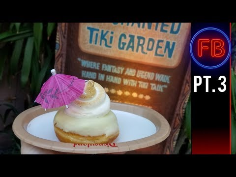 Dole Whip Donuts and our first look at new Small World - 04/14/18 pt 3 (4K)