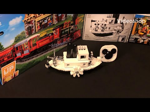 LEGO Disney Mickey Mouse Steamboat Willie Review