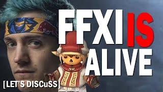Ninja Live Streams FFXI - What is Happening? FFXI Reborn? [Let