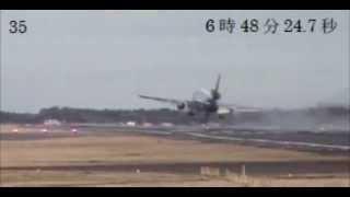 フェデックス80便 着陸失敗時の映像一覧