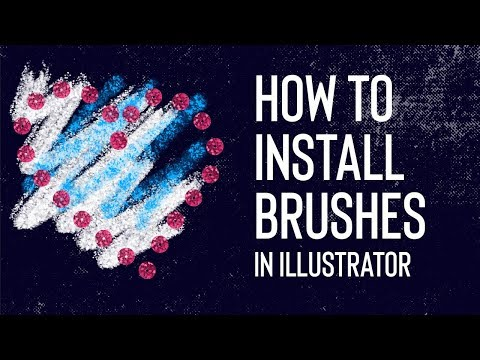 How to Install Brushes in Illustrator