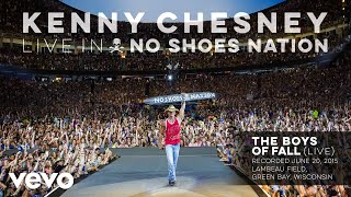 Kenny Chesney - The Boys of Fall (Live) (Audio) YouTube Videos