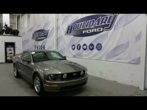 2005 Ford Mustang GT 4.6L V8 W/ Leather Interior, Power Windows Review | Boundary Ford