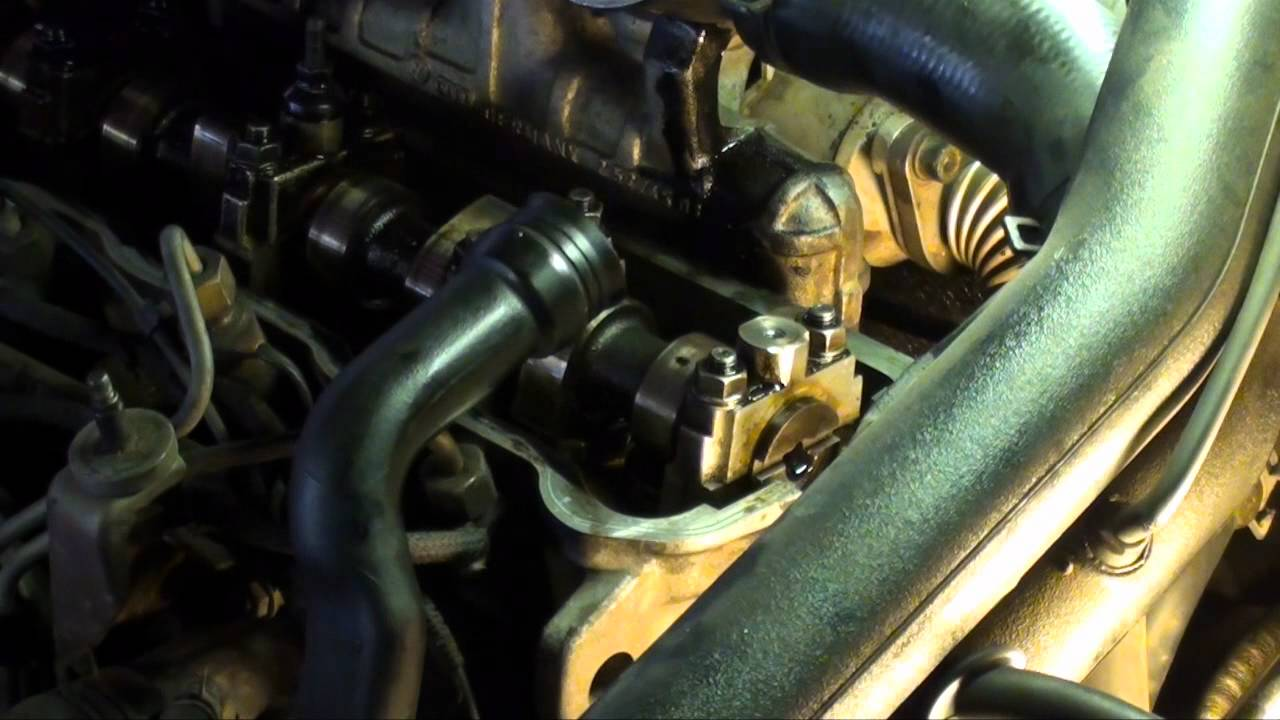 Vw Jetta Tdi Timing Belt Replacement 19 Turbo Diesel Youtube Diagram Of Golf V Ignition