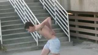 The Naked 12 Stair Ollie