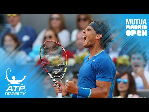 Top 5 Rafa Nadal Shots at Mutua Madrid Open!
