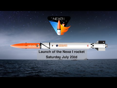 Copenhagen Suborbitals: Nexø I launch from the Baltic Sea