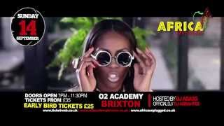 TIWA SAVAGE DORO DIVA TV FILLER AFRICA UNPLUGGED 14TH SEPTEMBER LONDON