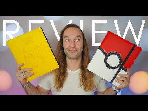 Pokémon Ultra Pro Premium Pro-Binders Review - Perfect Trading Card Game Companions