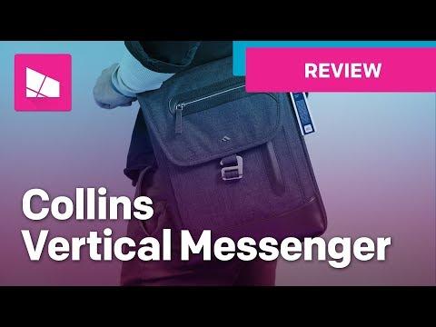 Brenthaven Collins Laptop Vertical Messenger Bag Review