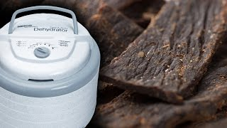 How Its Made Beef Jerky on Nesco Professional (inexpensive) Dehydrator